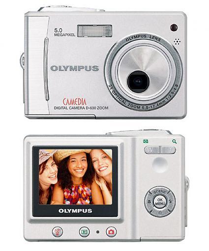 Olympus D-630 Digital Camera - Press Release-d630.jpg