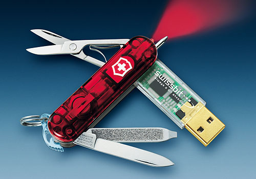 Usb Memory Swiss Army Knife Press Release