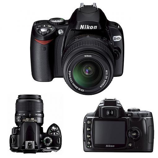 Nikon D40X Digital SLR - Press Release-nikon_d40x_600.jpg