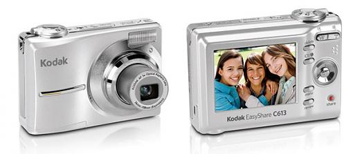 Kodak EasyShare Z712 IS, Z885, C613 & C763 Zoom Digital Cameras - Press Release-c613_digital_camera_front.jpg