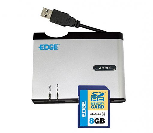 Edge Tech 8GB SDHC Memory Card / Reader Combo - Press Release-all-one-xd-sdhc.jpg