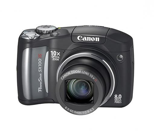Canon PowerShot SX100 IS Ultra-Zoom Digital Camera - Press Release-sx100is_k_front%5B.jpg