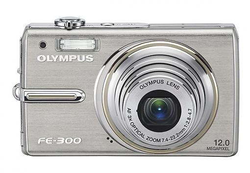 Olympus FE-300, FE-290 and FE-280 Digital Cameras - Press Release-fe-300_front.jpg