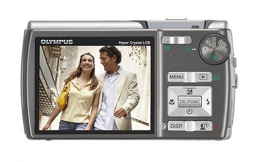 Olympus Stylus 820, Stylus 830 and Stylus 1200 Digital Cameras - Press Release-stylus830_silver_lcd.jpg