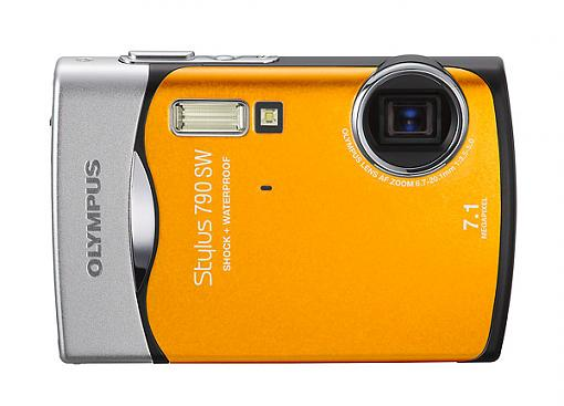 Olympus Stylus 790 SW Waterproof Digital Camera - Press Release-stylus790sw_a_or.jpg