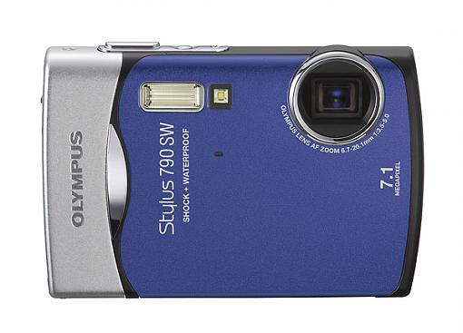 Olympus Stylus 790 SW Waterproof Digital Camera - Press Release-stylus790sw_a_bl.jpg