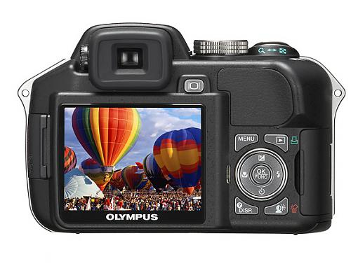 Olympus SP-560 Ultra Zoom Digital Camera - Press Release-sp-560uz_lcd.jpg