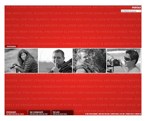 Pentax Launches Pentaxian Community Site - Press Release-pentaxianscreenshot.jpg