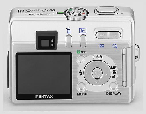 Pentax Optio S50 - Press Release-18333_optios50_backhi_4c.jpg