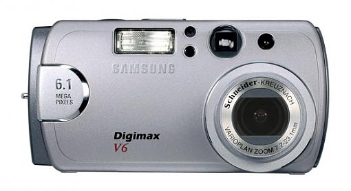 Samsung Digimax V6 Digital Camera - Press Release-digimax-v6_f-copy.jpg