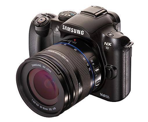 Samsung Officially Launches NX10 'Hybrid DSLR' (Challenge to MFT)-samsung_nx10_front.jpg