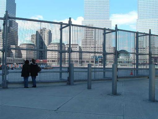 Pictures of Ground Zero and New York City-admiring-ground-zero.jpg