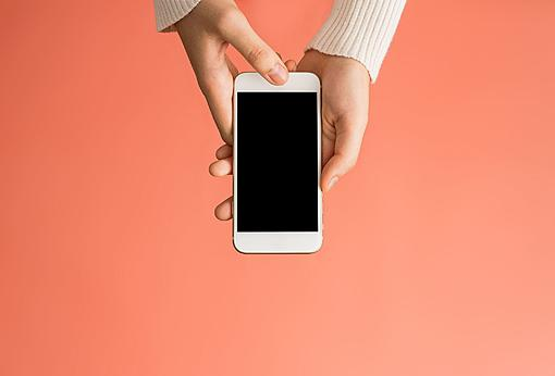 Why not move on ?! Check out the reasons why women still shone on the social media of-close-up-woman-using-mobile-phone-over-pink-royalty-free-image-1588788077.jpg