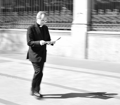 2009 April Project: B&W-walking-faith.jpg