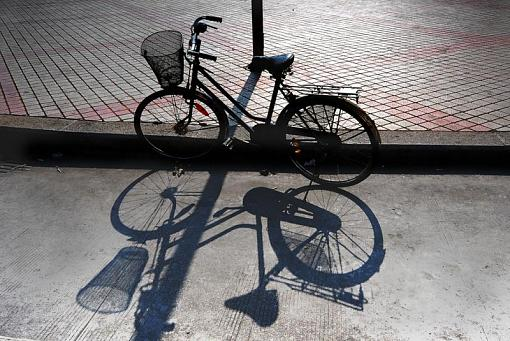 """December Project """"Playing with Shadows""""-bicycle.jpg"""