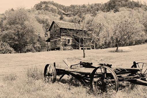 Your Best Photos from 2005-sepia-cabin.jpg