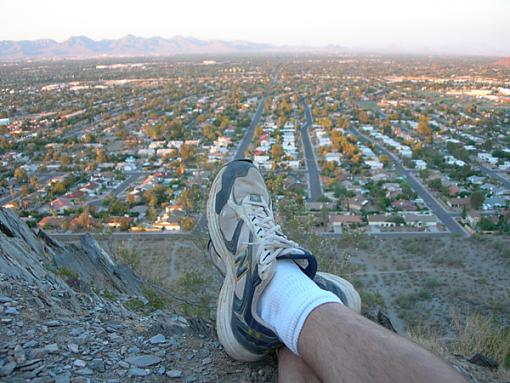 self portrait-shoe-sunset2.jpg