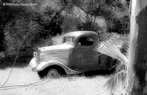 A few shots from today-truck-bw.jpg