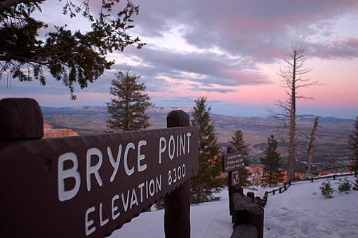 A snowy day at Bryce Canyon-brycesign-04.jpg